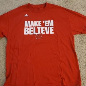 Wisconsin badger tshirt